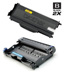 Brother TN360-DR360 Laser Toner and Drum Compatible Cartridge High Yield Black