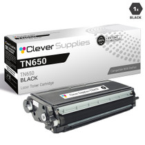 Premium Brother TN650 Laser Toner Compatible Cartridge High Yield Black