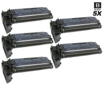 Compatible Xerox 106R01047 Premium Quality Laser Toner Cartridges Black 5 Pack