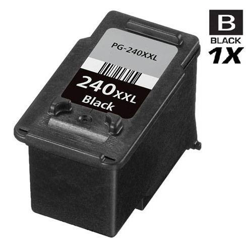 Compatible Canon PG-240XXL (5204B001) Ink Cartridge Remanufactured Extra High Yield Black