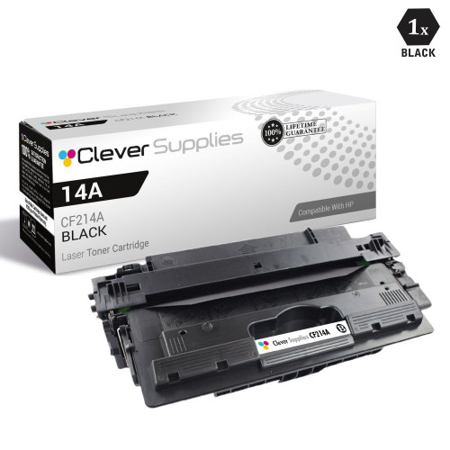 CS Compatible Replacement for HP CF214A Toner Cartridge Black/ HP 14A