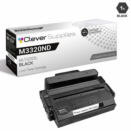 Samsung MLT-D203L Compatible High Yield Laser Toner Cartridge Black