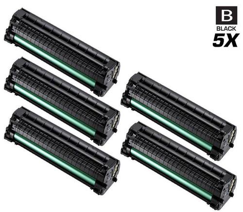 Compatible Samsung SCX-3205 Laser Toner Cartridge Black 5 Pack