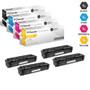 CS Compatible Replacement for HP 201A Laser Toner Cartridges 4 Color Set (CF400A/ CF401A/ CF403A/ CF402A)