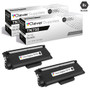 Compatible Brother TN750 Laser Toner Cartridge High Yield Black 2 Pack