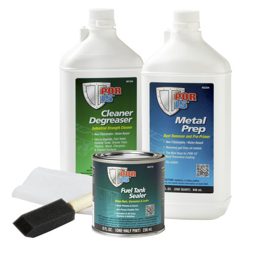 POR15 Motorcycle Fuel Tank Repair Sealer Kit