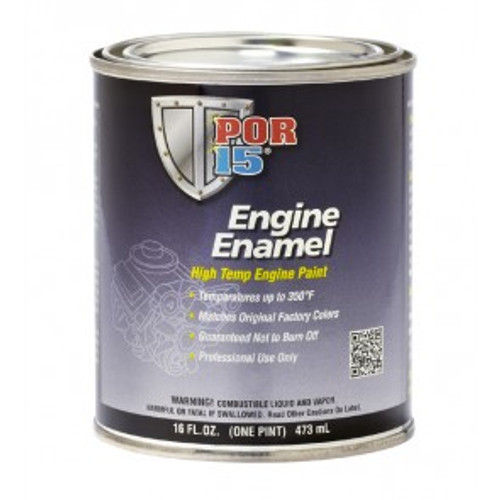 POR15 Ford Red Engine Enamel Paint 473ml