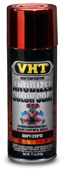 VHT Anodised Red Colour Coat Paint