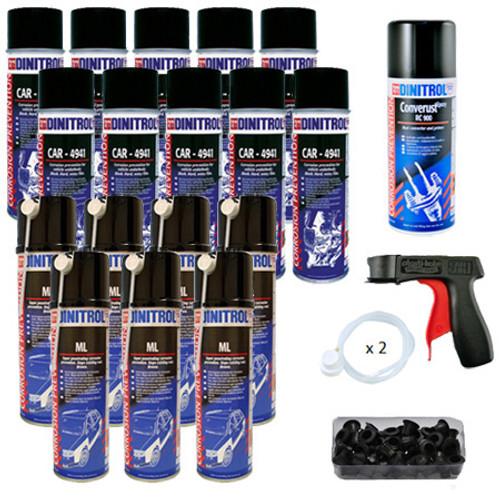 Dinitrol Large Classic Rustproofing Aerosol Spray Kit