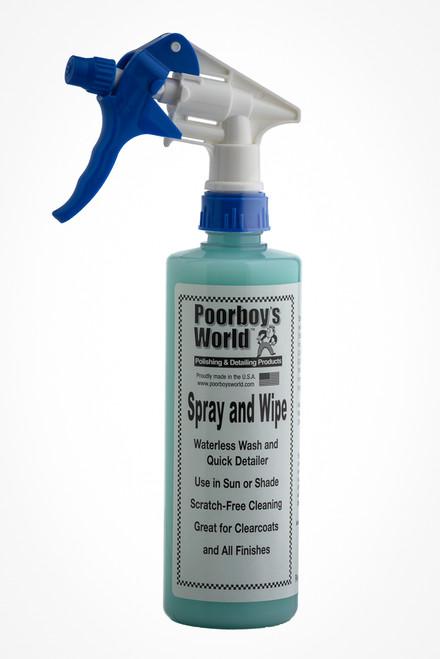 Poorboys World Spray and Wipe 16oz (473ml)