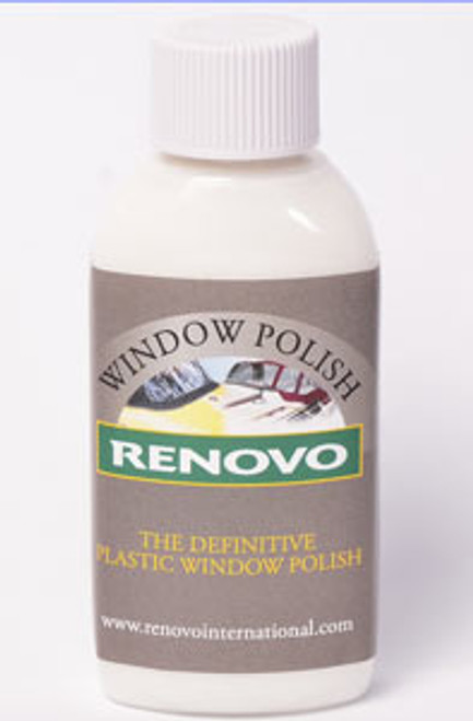 Renovo Plastic Window Polish 100ml