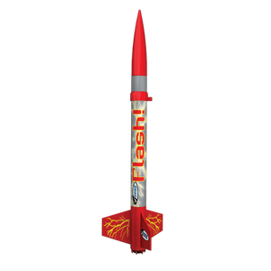 The Flash Flying Model Rocket Launch Set - Estes 1426
