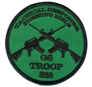 Girl Scout Fighting Rifle Fund Raiser Patch