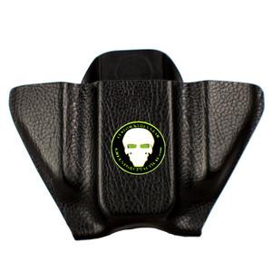 Pocket Mag Carrier - Double Stack - Black Raptor - Front