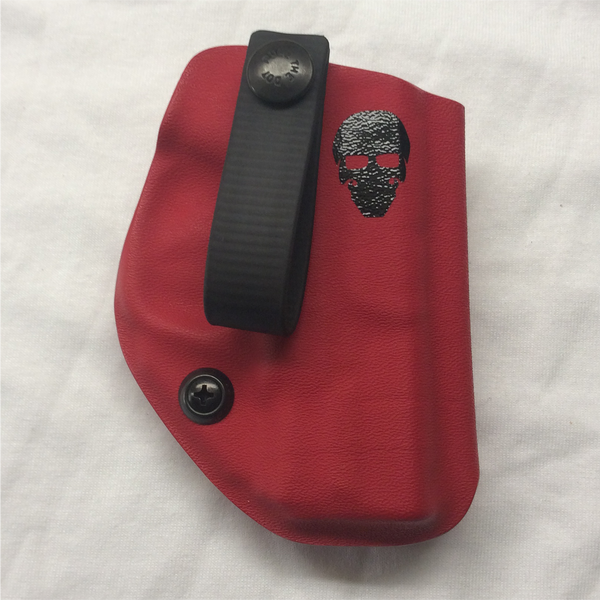 Custom Kydex Appendix (AIWB) Holster - Front - Red