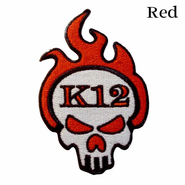 K12 Logo Patch - Red