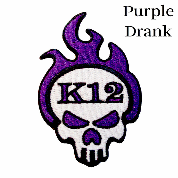 K12 Logo Patch - Purple Drank