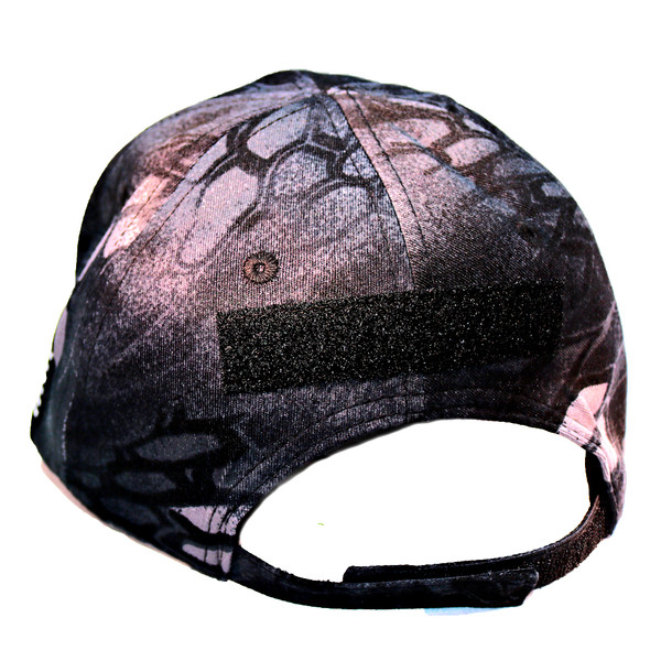 GFT Logo Velcro Tactical Ball Cap - Kryptek Typhon - Back View