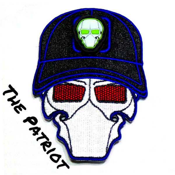 The Patriot Ball Cap Logo Patch with GFT Ranger Eye Patch