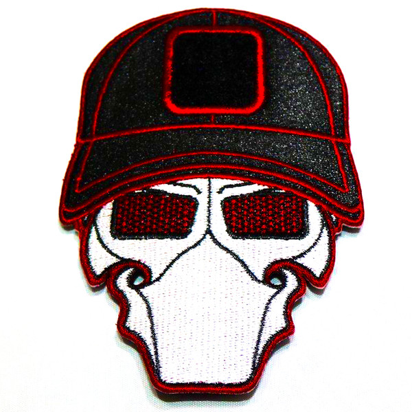 FXR Red Ball Cap Logo Patch