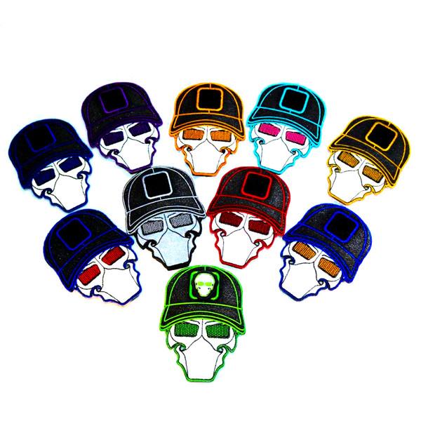 GFT Ball Cap Logo Patches