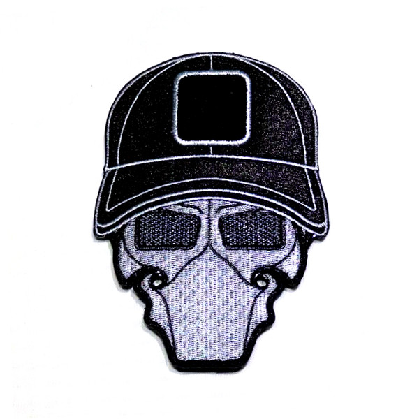 Murdered Out Ball Cap Logo Patch
