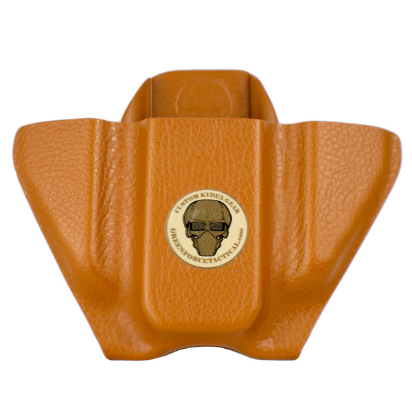 Pocket Mag Carrier - Double Stack - London Tan Raptor - Front