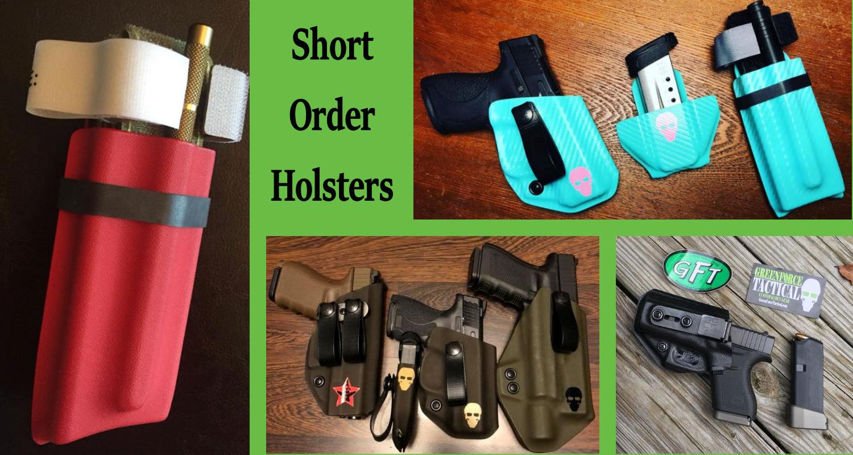 Short Order Kydex Holsters