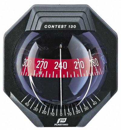 Plastimo Contest 130 Compass with bracket - Black