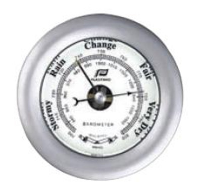 "Plastimo 4"" Barometer Sealed Matt Chrome"