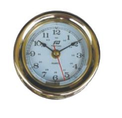 "Plastimo 5"" Clock Sealed RN/Arabic"