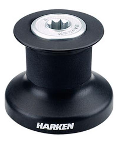Harken Single Speed Winch with Alum/Composite Base, Drum & Top (B8A)