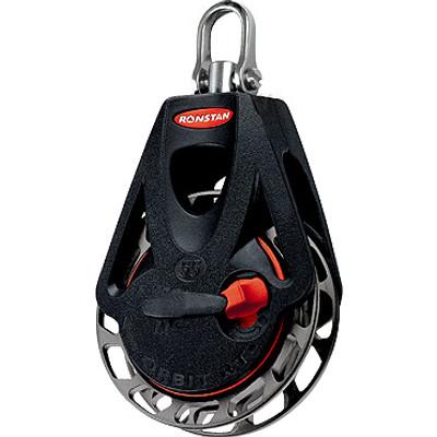 Ronstan Series 55 Ratchet Orbit Block, Single Swivel Head