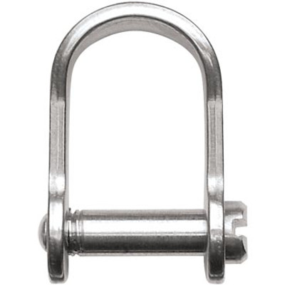 "Ronstan Shackle, Slotted Pin 3/16"", L:17mm, W:13mm"