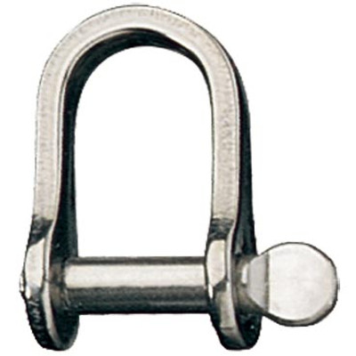 Ronstan Standard Dee Shackle, Coined Pin Head