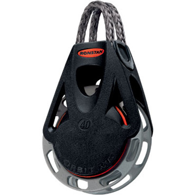 Ronstan Series 40 RTA/RTM OrbitBlock™, Auto/Manual, Single, Link Head