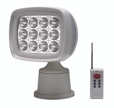 RWB Remote Control Searchlight LED 1600 Lumen