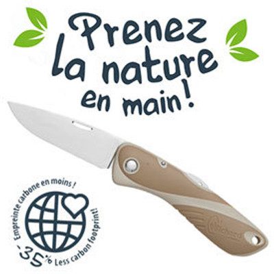 Wichard Aquaterra Bio-sourced Knife - Single Plain Blade