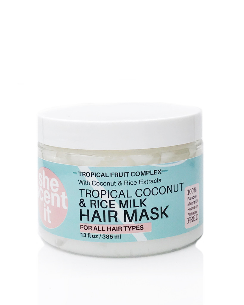 TROPICAL COCONUT & RICE MILK HAIR MASK