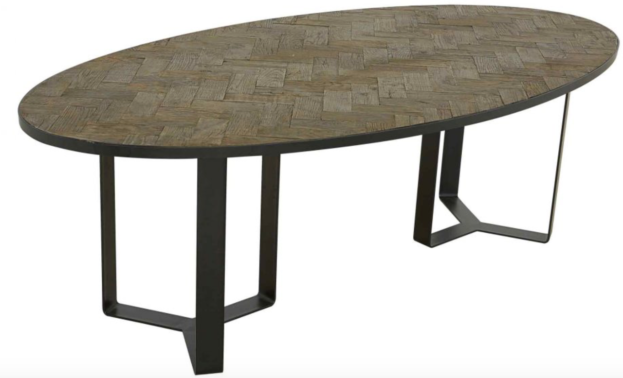 Genial HERITAGE OVAL DINING TABLE