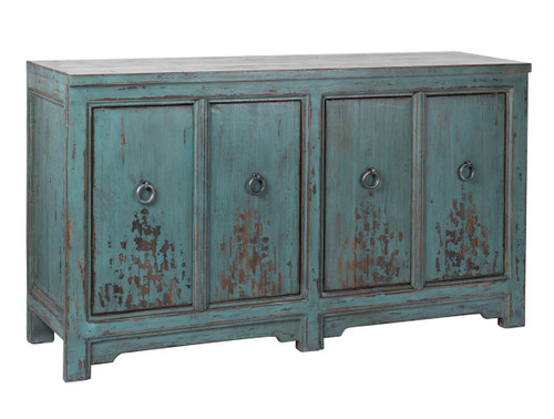 Amherst 4Dr Buffet Turquoise
