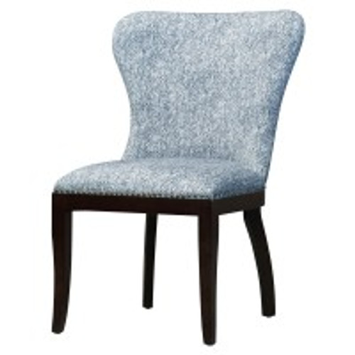 Dorsey Fabric Chair, Quiver Indigo Blue