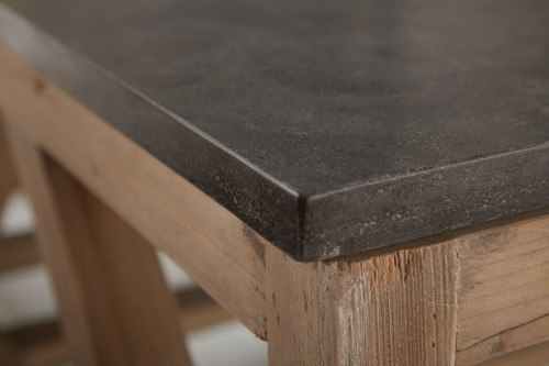 ... BLUE STONE COFFEE TABLE ...