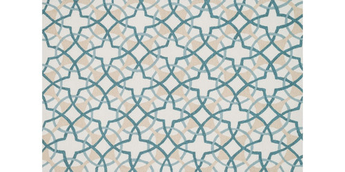 Francesca Collection FC-42 IVORY / TEAL