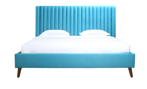 CAMILLA KING BED BLUE