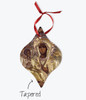 Pick-Your-Saint Metallic Icon Ornament: 9 Shapes Available (Single or Dual-Sided)