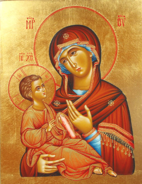 Theotokos and Christ-Child Icon