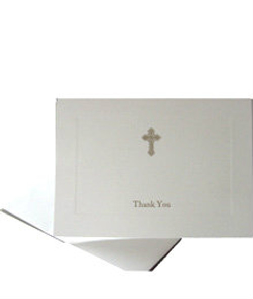 Orthodox Cross Thank You Cards- Set of 10