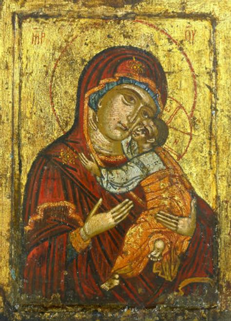 """Theotokos """"Glykophilousa"""" Icon"""