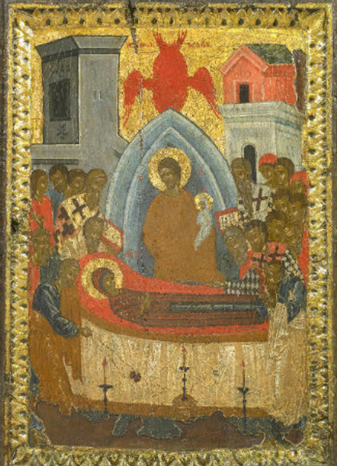 Dormition of the Theotokos Icon- Icon IV
